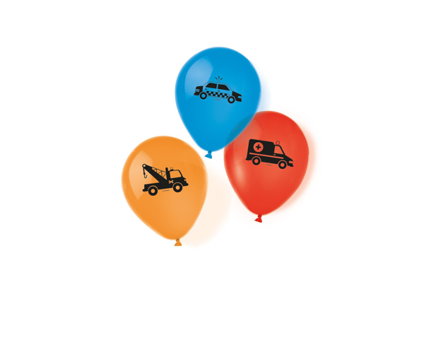 Picture of Tattooed balloons - On the road (6pcs)