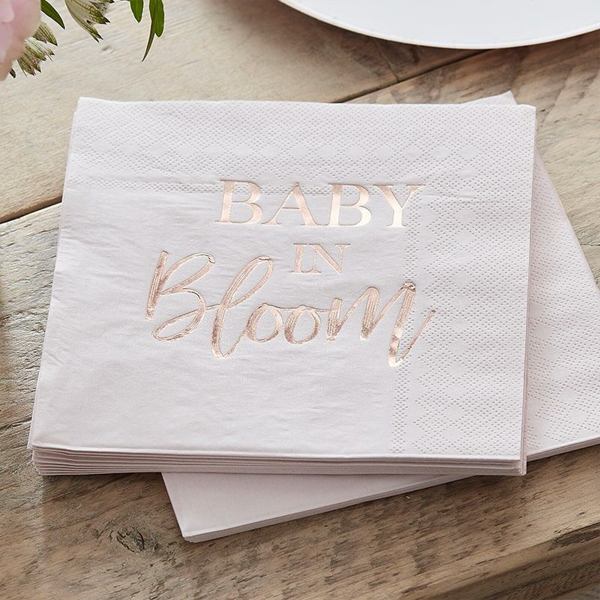 Picture of Paper napkins - Baby in bloom