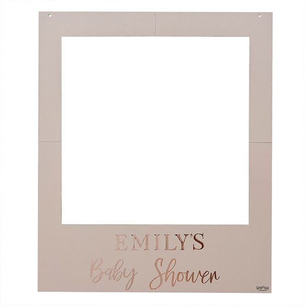 Picture of Personalized frame - Baby shower