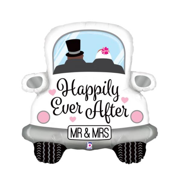Μπαλόνι Foil Γαμήλιο αυτοκίνητο