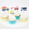 Θήκες και διακοσμητικά για cupcakes - Construction