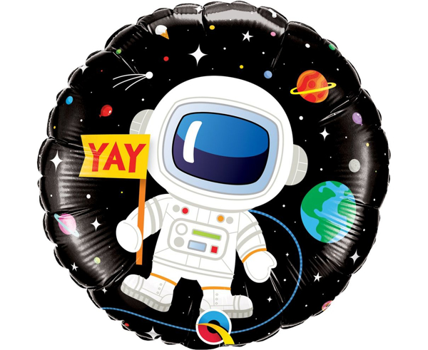 Picture of Foil Balloon Happy birthday Astronaut