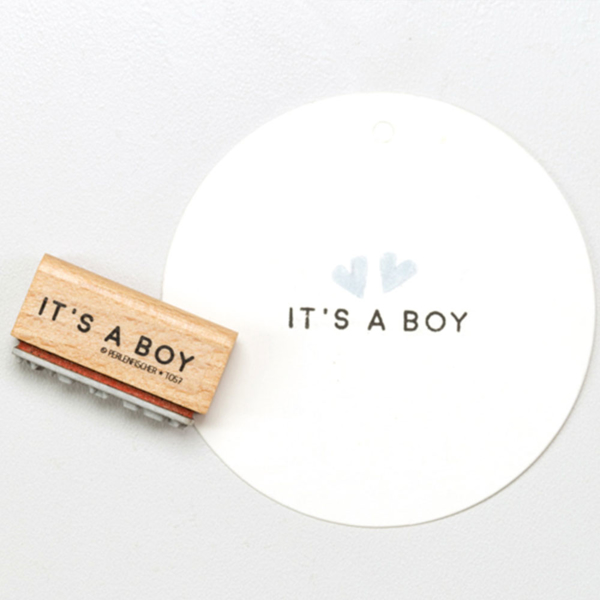 Picture of Rubber Stamp It's a boy