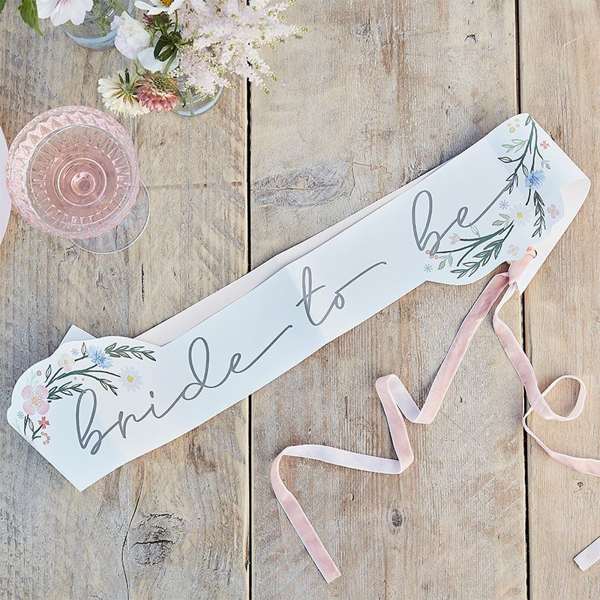 Picture of Bride to be Sash - Boho