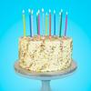 Κεράκια για τούρτα - Πολύχρωμα
