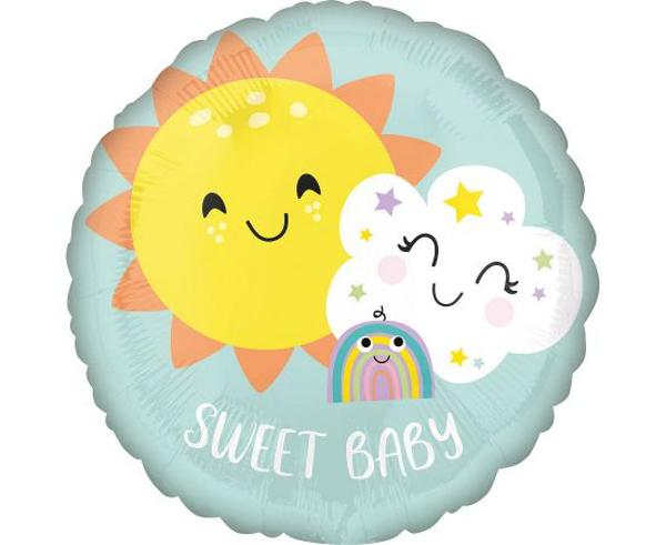 Μπαλόνι foil Sweet Baby Rainbow