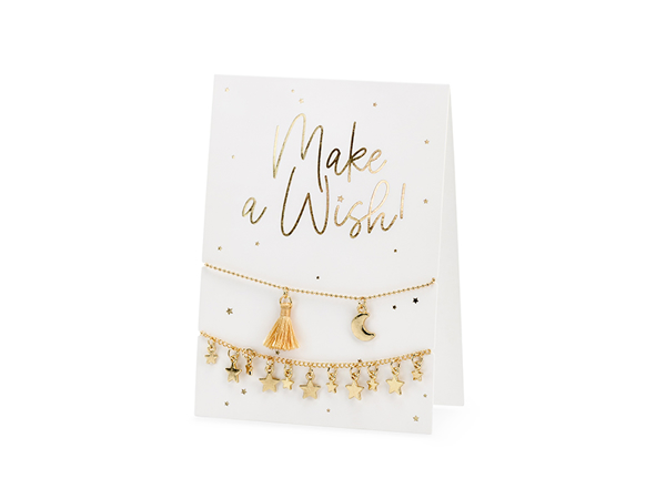 Picture of Card with bracelets Make a wish!