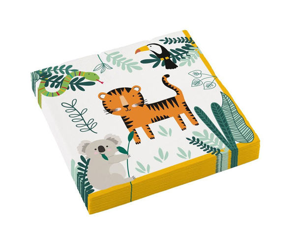 Picture of Paper napkins - Get wild
