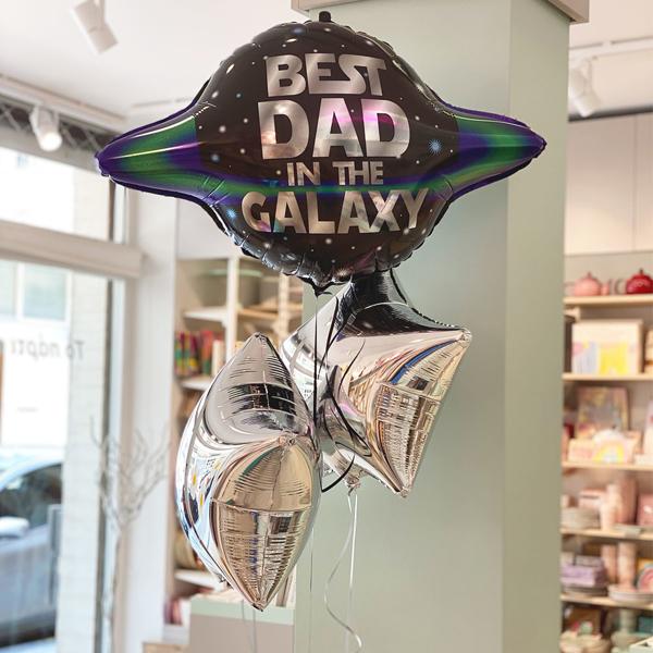 Σετ Μπαλόνια BEST DAD (μόνο για παραλαβή από το κατάστημα μας)