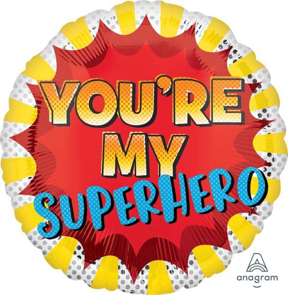 Μπαλόνι Foil You're my superhero