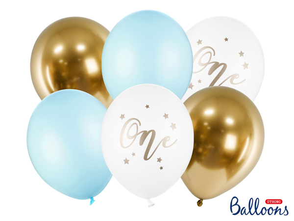 Picture of Balloons - One light blue (6pcs)
