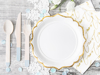 Picture of Side paper plates - White