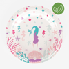 Picture of Paper plates - Mermaid