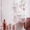 Μπαλόνια με κομφετί - Team Bride
