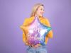 Μπαλόνι foil αστέρι - Rainbow happy birthday