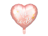 Picture of Foil Balloon Heart - Μom to be pink