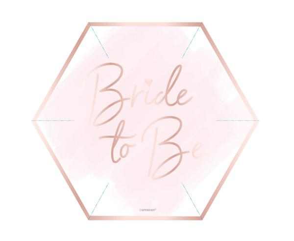 Χάρτινα πιάτα γλυκού - Bride to be