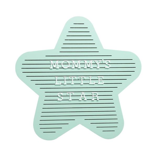 Message board σε σχήμα αστέρι