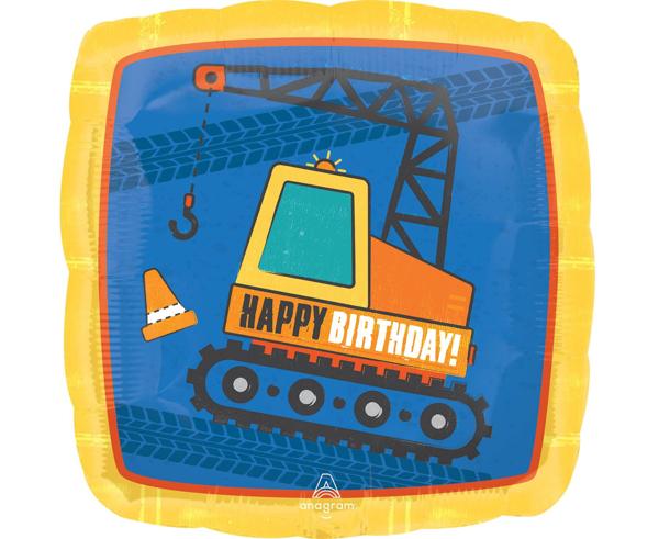 Μπαλόνι foil τετράγωνο - Construction