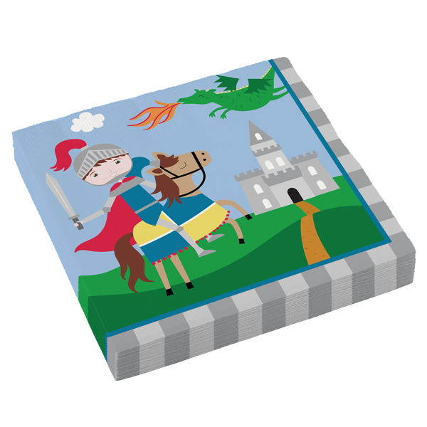 Picture of Paper napkins - Knight