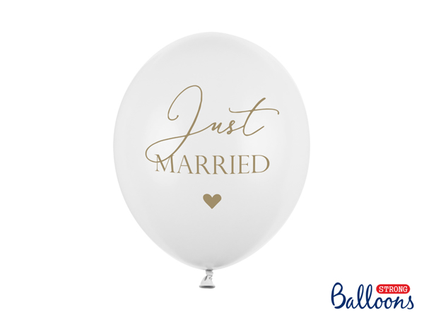 Picture of Balloons - Just married