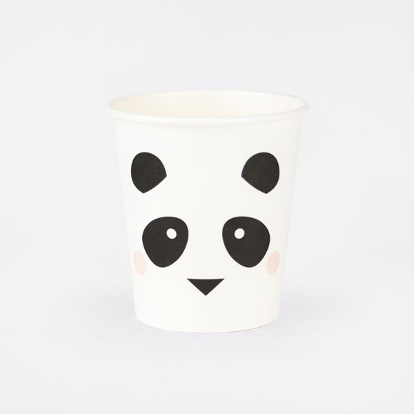 Picture of Paper cups - Panda