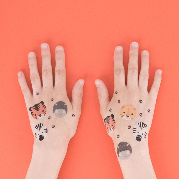 Picture of Temporary tattoos - Jungle animals