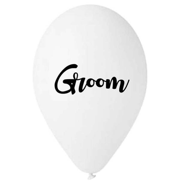 Picture of Balloons - Groom (5pcs)