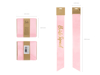 Picture of Bride squad Sash in pink - Satin