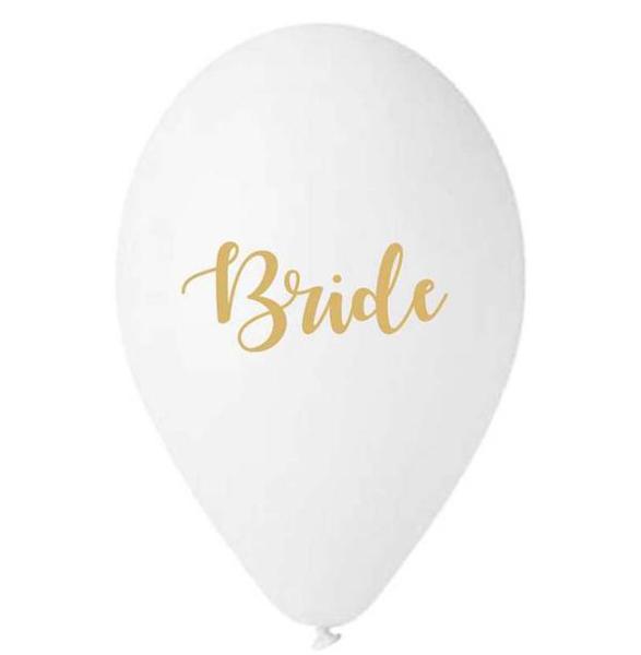 Μπαλόνια - Bride (5τμχ)