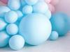 Μπαλόνι παστέλ γαλάζιο (60εκ.)