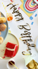 Picture of Banner happy birthday gold 64cm