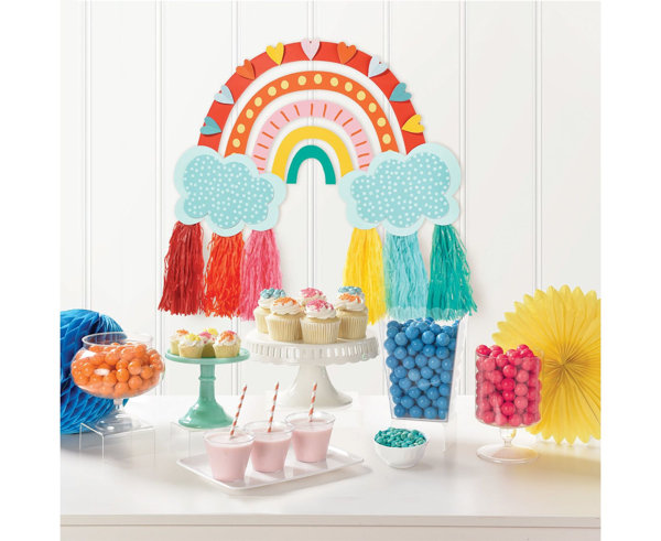 Picture of Wall decorating kit - Retro rainbow