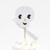 Θήκες και διακοσμητικά για cupcakes - Halloween