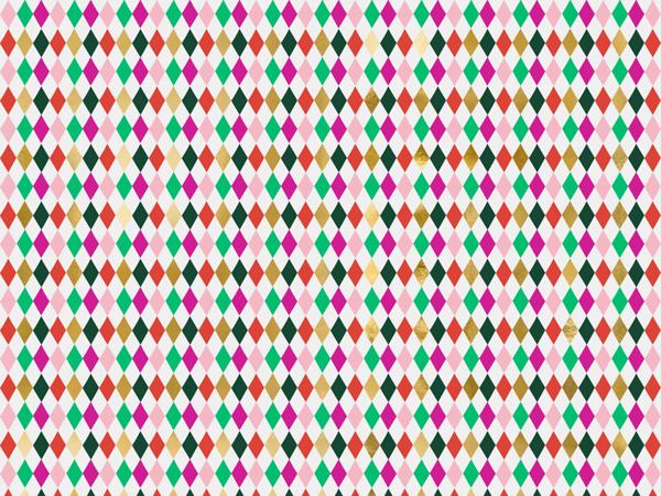 Χαρτί περιτυλίγματος - Ρόμβοι (2μ x 70εκ)