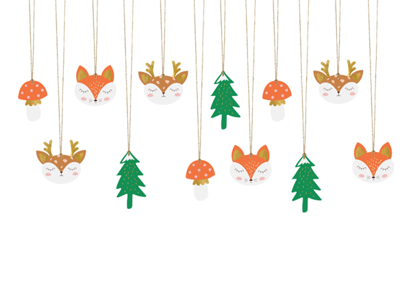 Picture of Gift tags - Forest