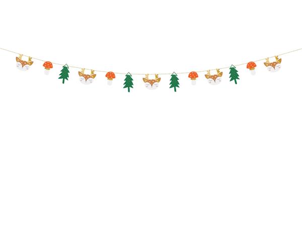 Χριστουγεννιάτικη γιρλάντα - Forest