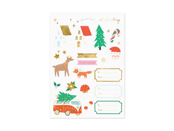 Χριστουγεννιάτικα αυτοκόλλητα - Winter fores