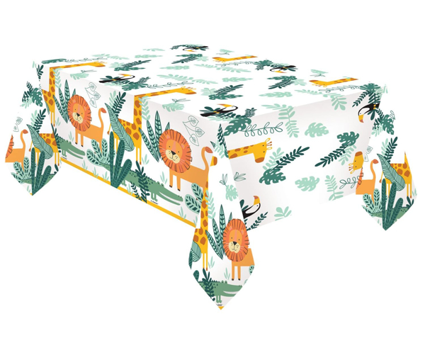 Picture of Paper tablecover - Get wild