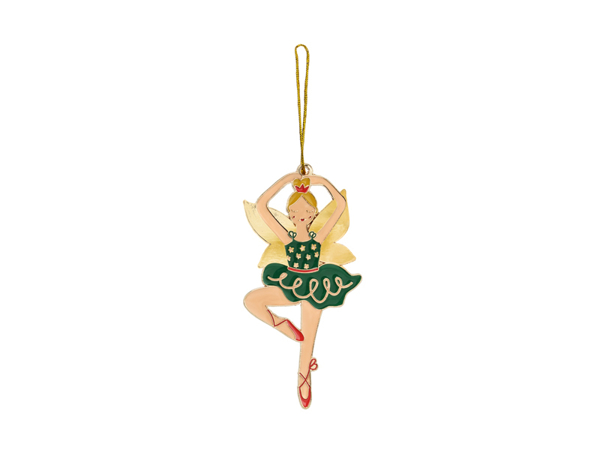 Picture of Metal hanging decoration - Ballerina