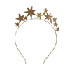 Picture of Metal headband - Gold stars