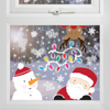 Picture of Window stickers - Santa and friends