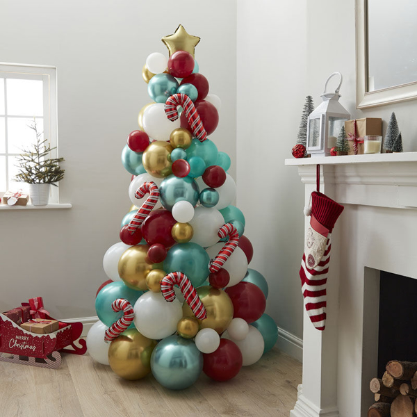 Picture of Balloon Christmas tree
