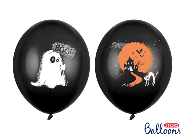 Picture of Balloons - Spooky (6pcs)