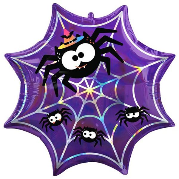 Picture of Foil Balloon Spiderweb